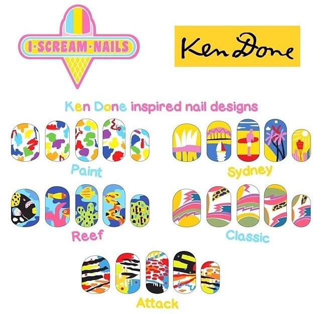 I Scream Nails for Ken Done pop up coming soon!