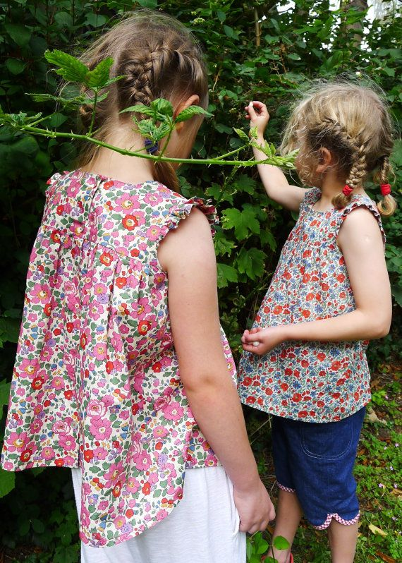 Her clothes for children made from Tana Lawn are available on Etsy.