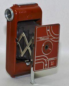 Utility MFG CO USA RED Color Falcon Model V 16 Bakelite Folding Camera IN RED | eBay
