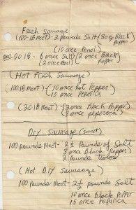 Homemade Pork Sausage Recipes 195x300 Homemade Sausage Recipes