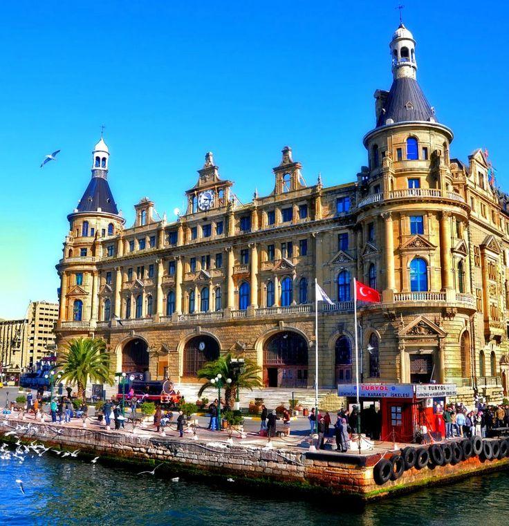 Haydarpaşa Tren Garı Kadıköy İstanbul/Turkey
