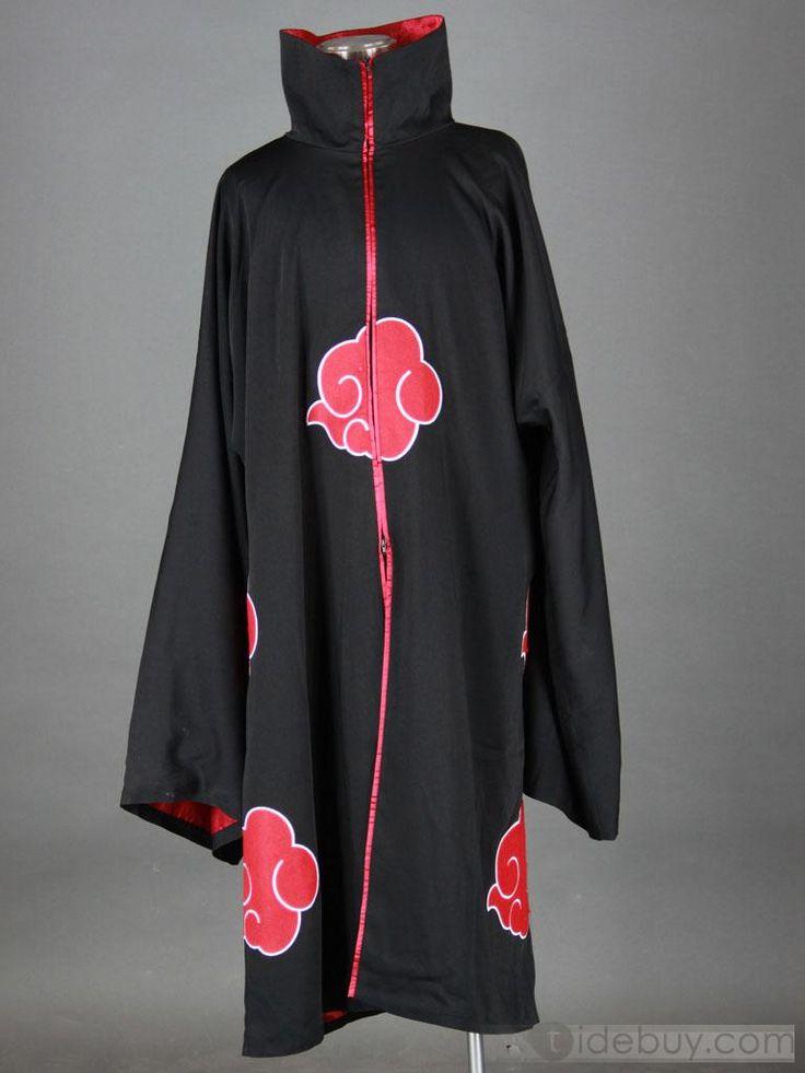AKATSUKI cloak 2nd generation Sleeve embroidery version