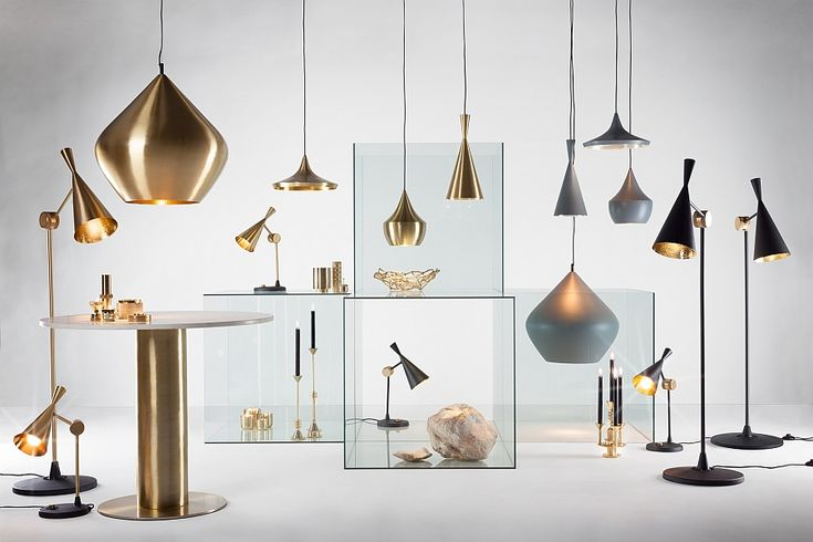 Entire Beat Collection from Tom Dixon on Display Shining A Spotlight On The Dazzling CLUB Collection By Tom Dixon