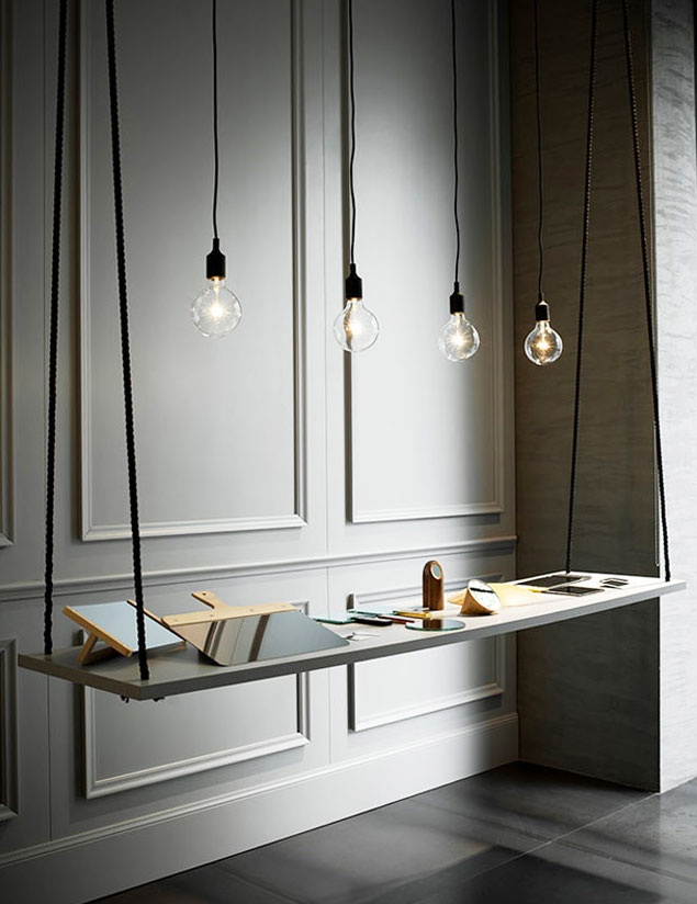 1000 ideas about floating desk on pinterest desks desk for Cool floating shelves