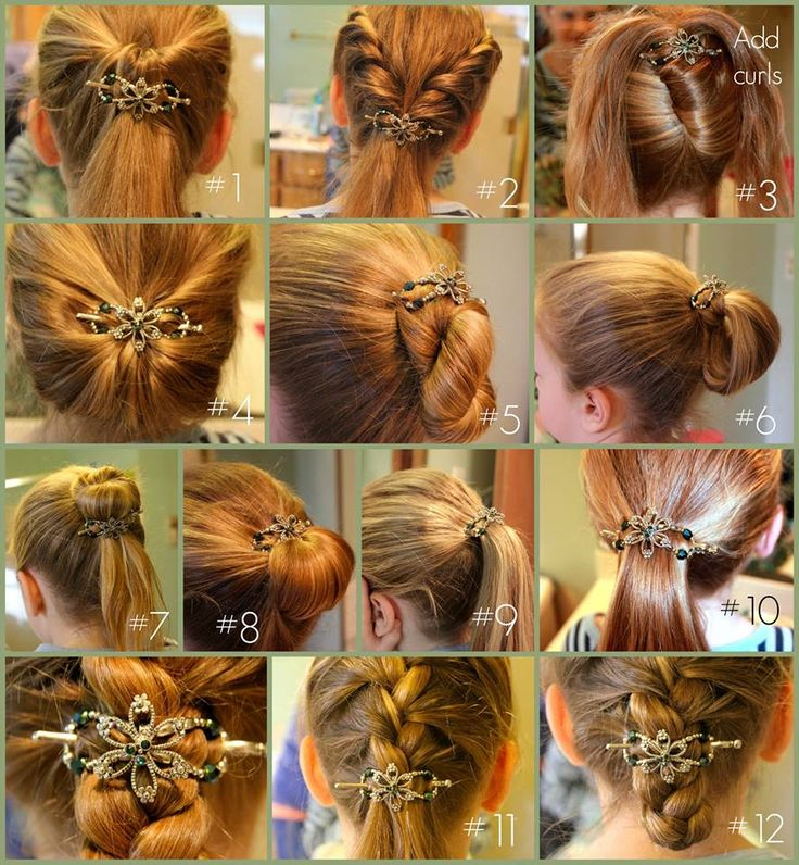 Hairstyling rose