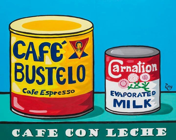 Tony Mendoza Art TONY MENDOZA 2013 PAINTINGS: Cafe con Leche II