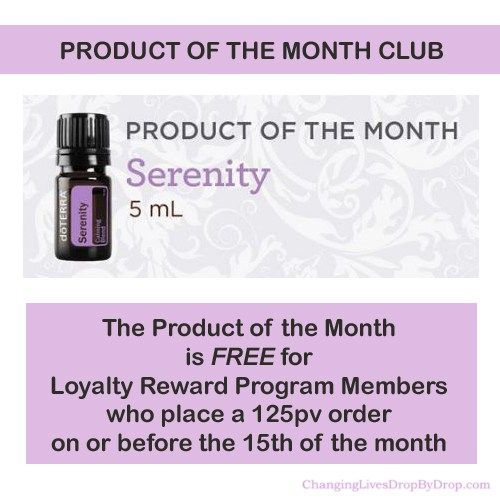 doTERRA's Product of the Month Club. Find out more about doTERRA's Product of the Month club at www.changinglivesdropbydrop.com