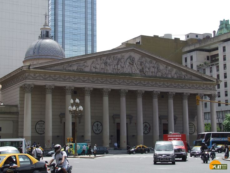 Die #CatedralMetropolitanadeBuenosAires ist die Hauptkirche der Katholiken in der argentinischen Hauptstadt #BuenosAires.
