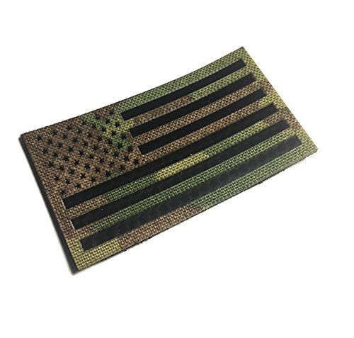The 3 5x2 Inch Infrared Multicam Infrared Ocp Ir Reflec Https Www Amazon Com Dp B078pxsh24 Ref Cm Sw R Pi Dp U American Flag Patch Flag Patches Multicam
