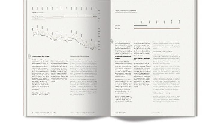 Raport roczny INVEST BANK | www.parastudio.pl