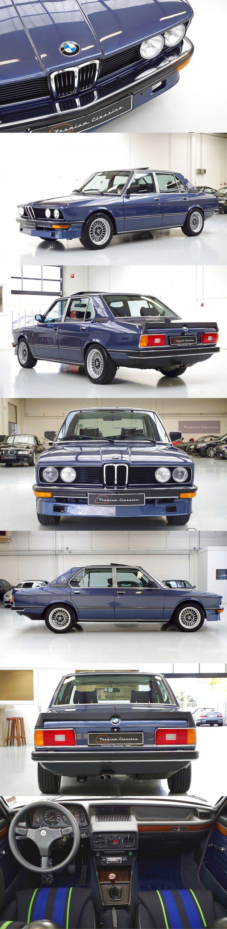 1980 BMW 528i / E12 / blue / Germany / premiumclassics.nl / 17-413 http://krro.com.mx/