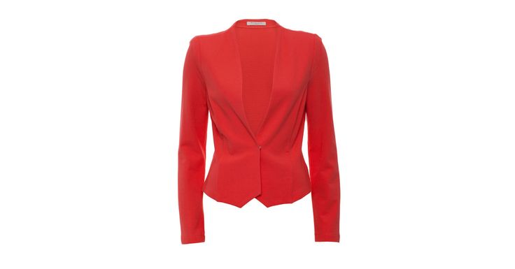 Metalicus | Franca Long Sleeve Jacket in Poppy Poppy