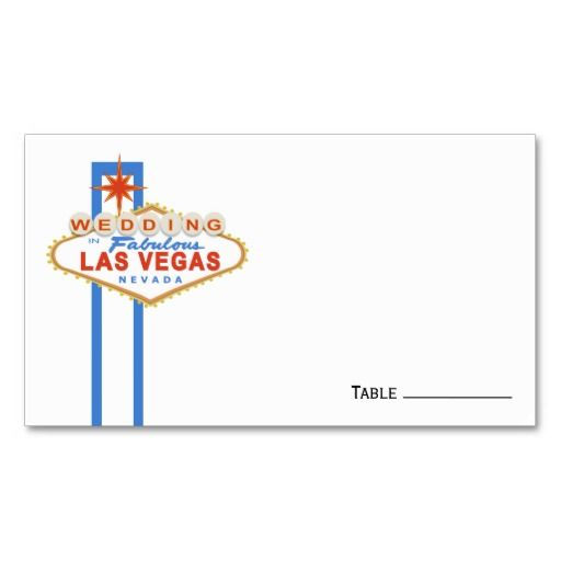 16 best las vegas christmas cards images on pinterest christmas las vegas sign wedding place cards pronofoot35fo Choice Image