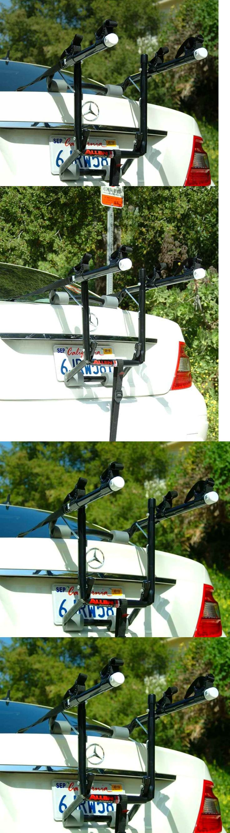 Car and Truck Racks 177849: Deluxe 2-Bike Carrier Holder Rack For Car Trunk Mount Rack By Allen Sports -> BUY IT NOW ONLY: $49.9 on eBay!