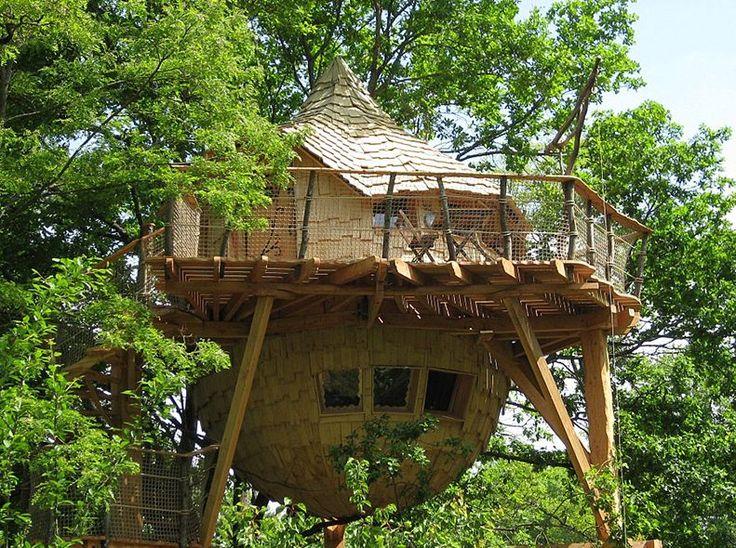 Tien boomhut tips in Frankrijk
