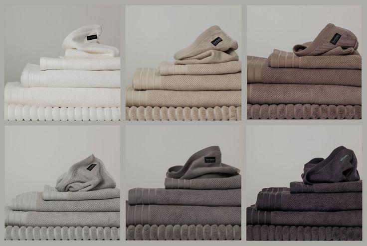 Bemboka Handtücher aus Türkischer Baumwolle in den Farben white, wheat, mocha, chocolate, dove, grey und charcoal.  #bemboka #Towels #Baumwolle #bens
