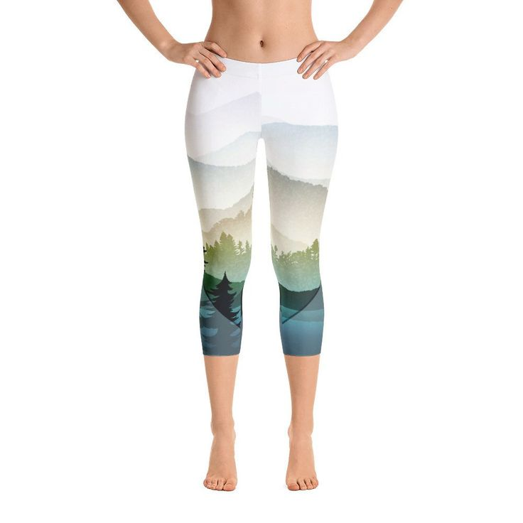 'Views' Capri Leggings