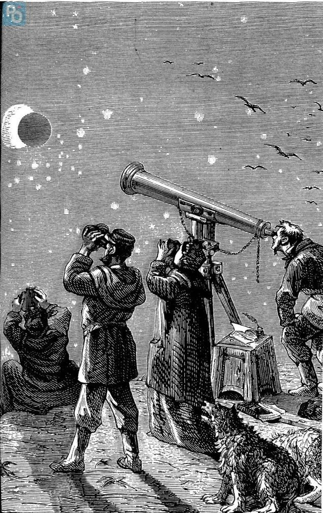 Nantes. L'éclipse de 1860 décrite par Jules Verne | Presse Océan #Espace #Astronomy⎜Astronomie