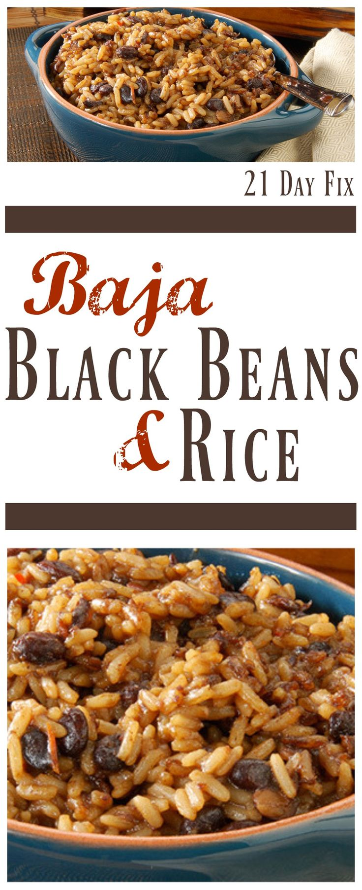 21 Day Fix Black Beans - Baja Black Beans and Rice #21dayfix #21dayfixdinnerideas #21dayfixbeans #21dayfixblackbeans #21dayfixriceandbeans #21dayfixrice #21dayfixdinner #cleaneating #cleaneatingdinnerideas #cleaneatingbeans #cleaneatingblackbeans #cleaneatingriceandbeans #cleaneatingrice #cleaneatingdinner