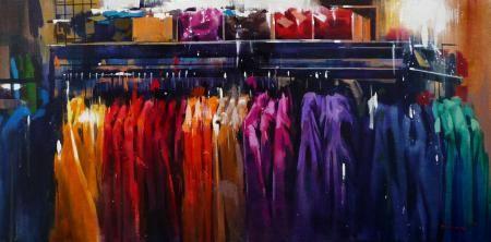 Yong-Man KWON - sweat - Peinture - acrlique sur toile