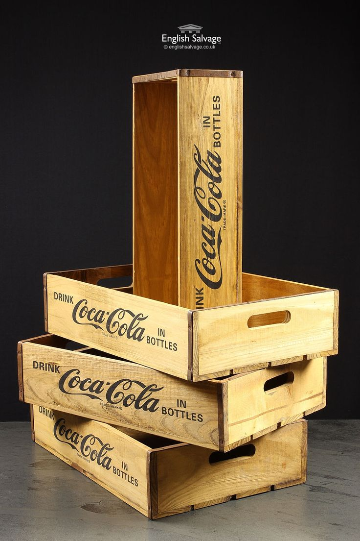 New Vintage Style Coca Cola Storage Boxes                                                                                                                                                      More