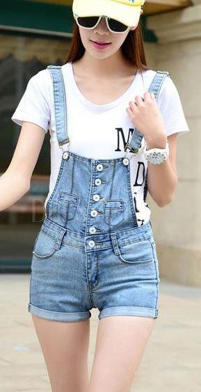 Women Shorts // Perfect for the hot weather ! #Pants #Shorts #Jeans #Fashion #Beauty http://www.dressve.com/shop-10950580.html