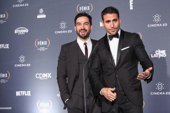 Miguel Ángel Silvestre y poncho Herrera en los premios fénix 2015