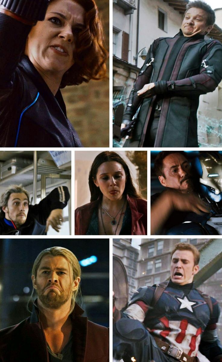 "Natasha's face is like I DON""T CARE!! Clint's is Whoa man Pietro's is like she's mad Wanda's is LOL Tony's is like crap crap crap crap CRAP thor's is like i don't see the problem  steve's is why is this not working"
