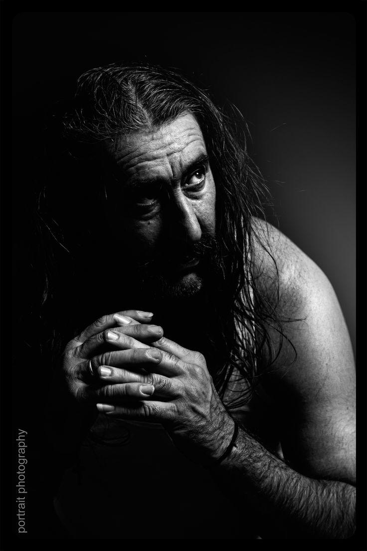 portrait in black backround #portrait #blackbackround #light #blackandwhite