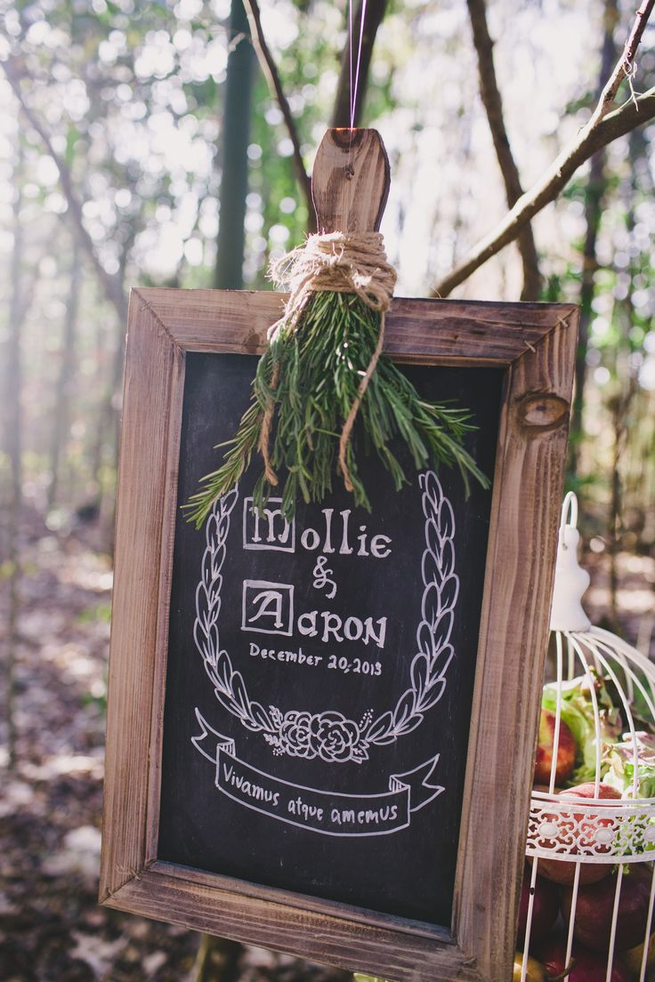 Forest elopement with #vintage details   Photography: Hyer Images - hyerimages.com  Read More: http://www.stylemepretty.com/little-black-book-blog/2014/05/22/intimate-southern-forest-elopement/