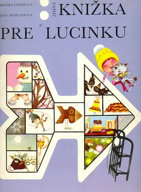 Zimná knižka pre Lucinku