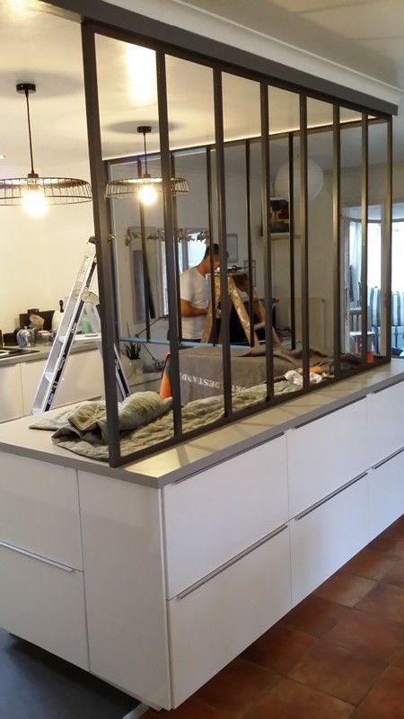 pose de la verri re f vrier 2015 verriere pinterest. Black Bedroom Furniture Sets. Home Design Ideas