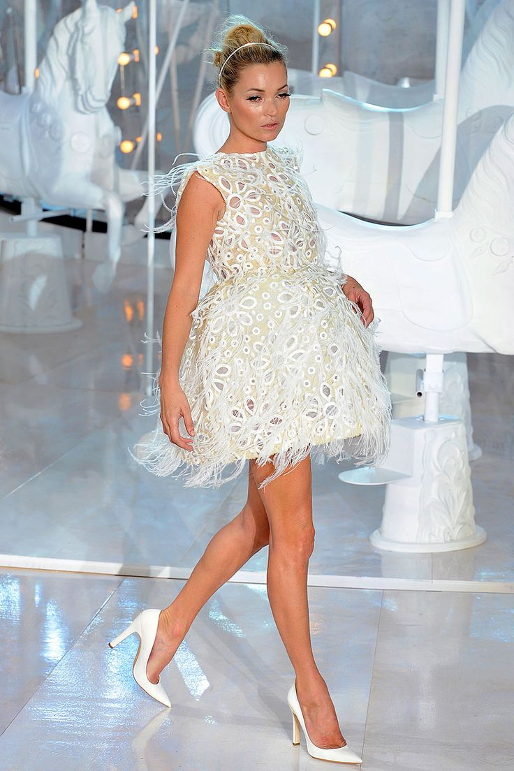Louis Vuitton Spring 2012 (this looked so pretty when she was sitting on the carousel, shoes have to go)