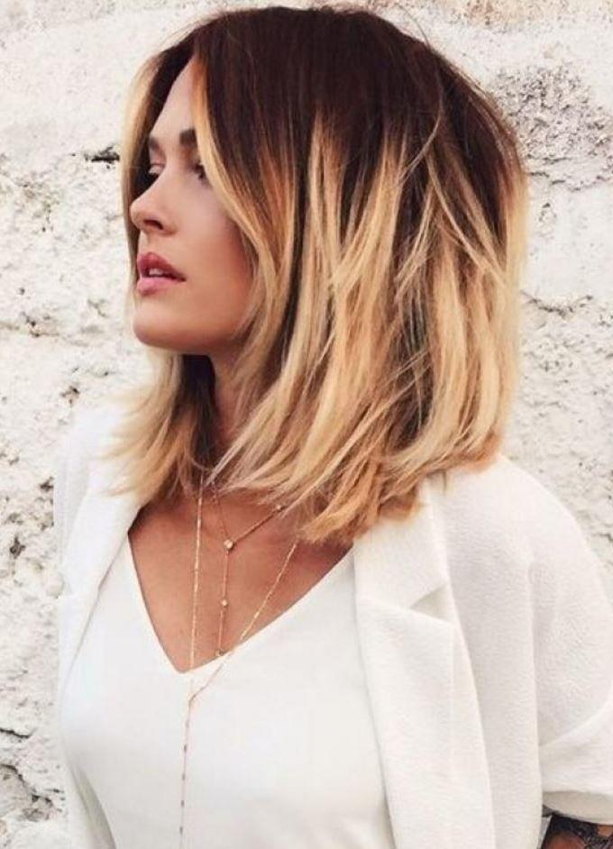 Modası Geçmeyen Ombre Saç Rengi Ve Modeli