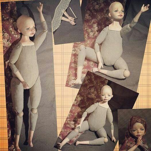 Будуарная кукла выкройки