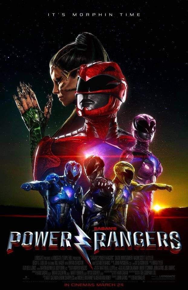 Power Rangers - Novo poster do filme mostra Rita Repulsa e os Rangers! - Legião dos Heróis