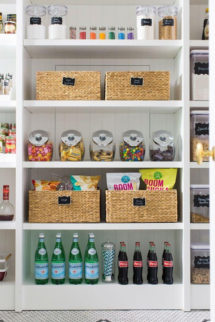 1001 Ideas Sobre Cómo Organizar La Cocina Paso A Paso Como Organizar Una Cocina Almacenamiento De Despensa Despensa Organizada