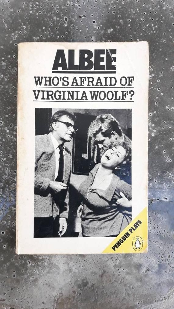 Vintage Penguin Book Who S Afraid Of Virginia Woolf A Play By Edward Albee In 2021 Vintage Penguin Edward Albee Penguin Book