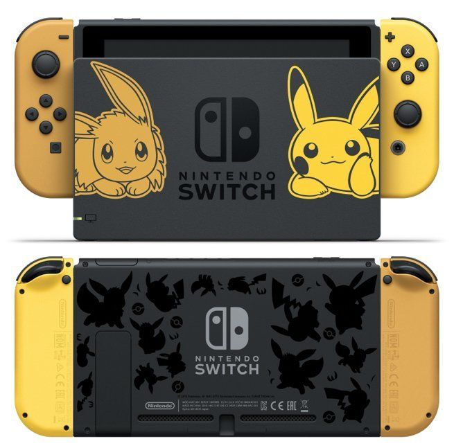 Nintendo Switch Pokemon Let S Go Pikachu And Eevee Bundles Are Up For Pre Order Nintendo Switch Accessories Nintendo Switch Case Nintendo