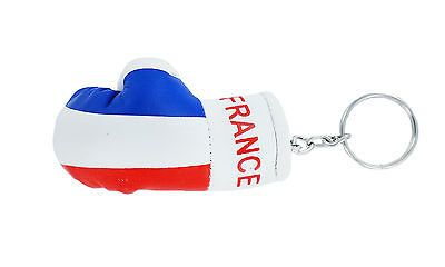Kaufen   Schlüsselanhänger keyring flagge fahne flaggen boxhandschuhe Frankreich France