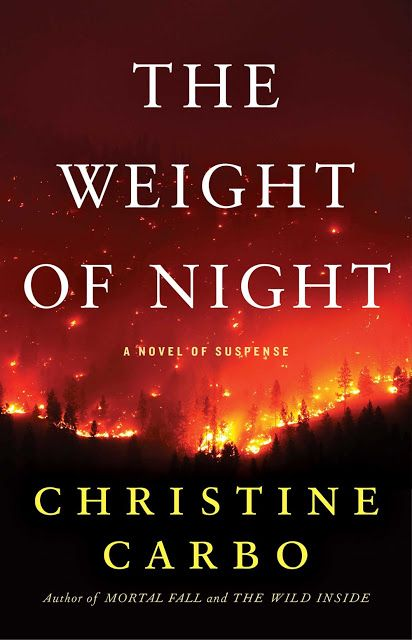 A Bookaholic Swede: Cover Crush: The Weight of Night by Christine Carbo