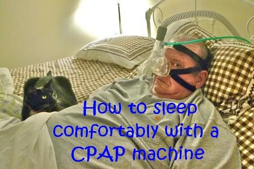 Sleeping with a sleep apnea face mask and hose may seem difficult, but it is possible to get comfortable and get some rest using a CPAP machine using these tips and suggestions.
