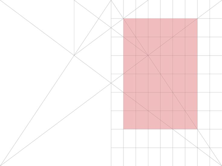 Canon secreto o Van de Graaf. 2:3 #layout #grid #GraphicDesign #gridsystem @Bluetypo