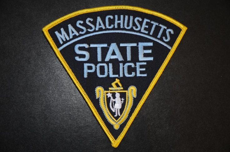 Massachusetts State Police Patch (Current Issue) - States Display