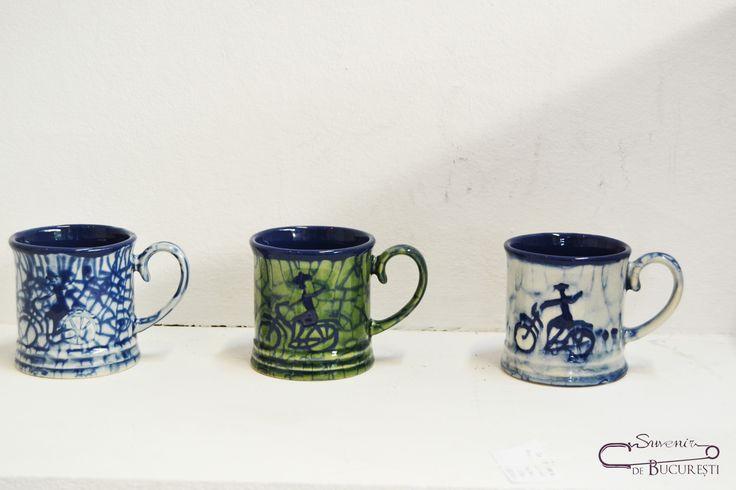 Căni din ceramică Autor: Nicoleta Mureșan Preț: 25 lei
