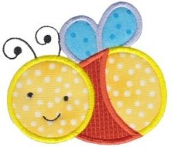 Baby Bug Applique - 2 Sizes! | Baby | Machine Embroidery Designs | SWAKembroidery.com Bunnycup Embroidery