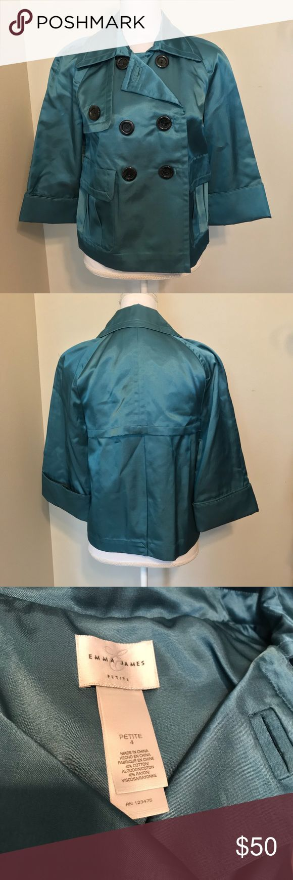 Emma James Petite Jacket Perfect condition Emma James Jackets & Coats Trench Coats