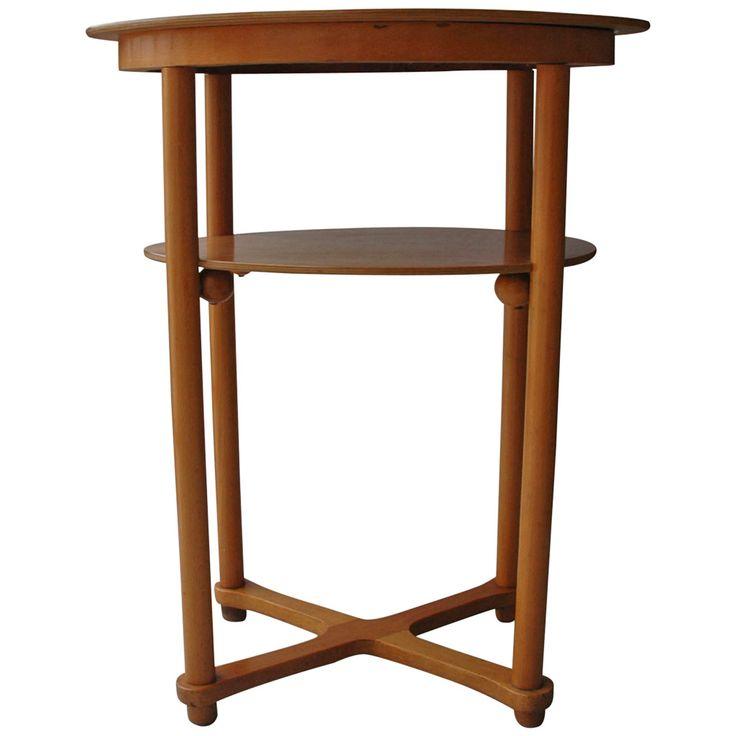 Side Table by Josef Hoffmann for Fischel