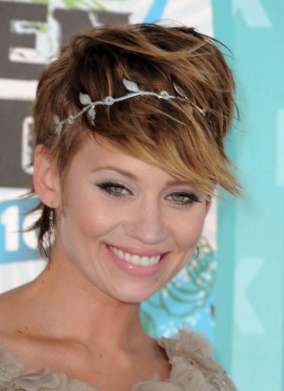 Short Bridesmaid Hairstyles 2012