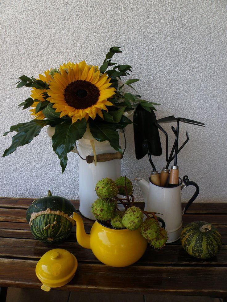 Rośliny i ogród, JESIENNY TARAS - Zapraszam na jesienny taras i na sielskidomekwdolinie.blogspot.com